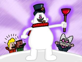 Captain Frostypants by AngryBirdsandMixels1