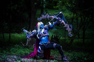 World of Warcraft: Sylvanas Windrunner by jrjs