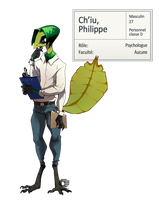 [Wheeler Institute] Philippe Ch'iu by RubyFeather