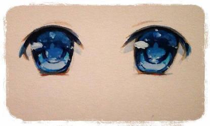 Deep blue by PastelCake