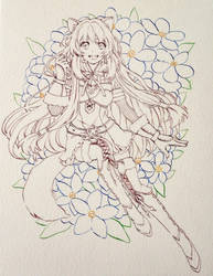 commission wip : Raphtalia by PastelCake
