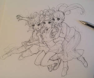 doodle jjjjump by PastelCake