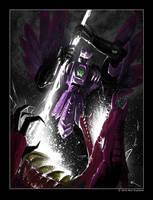 TFU Razorclaw vs. BW Megatron by MattDrawsRobots