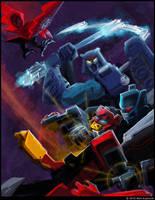 Blaster vs. Straxus by MattDrawsRobots