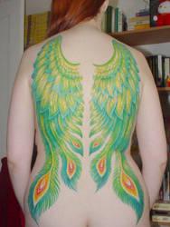 Peacock Wings -Final by xanthia