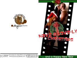 have a lovely christmas - card by EasyCom
