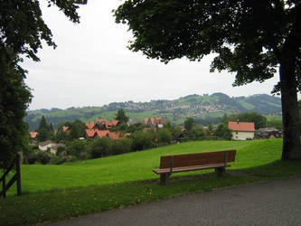 the lonely bench by EasyCom