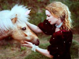 meeting with a unicorn by NataliaCiobanu