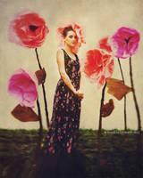 Flower girl by NataliaCiobanu