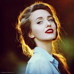 Alina in the summer by NataliaCiobanu