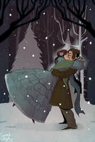 Winter Kiss by savivi