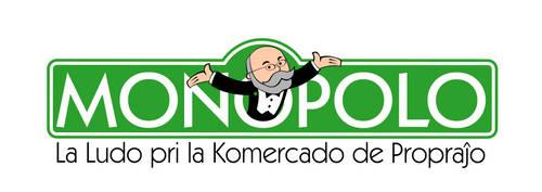 Esperanto Monopolo logo by jonizaak