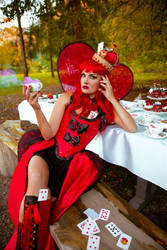Mistique Red 2 by LadyOfTheShadow