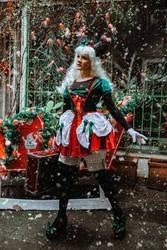 Christmas Minnie by LadyOfTheShadow