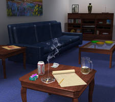Living Room Scene by iconkid