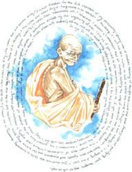 Gandhi by mercies