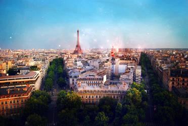 Paris Stars by courtneyakennedy