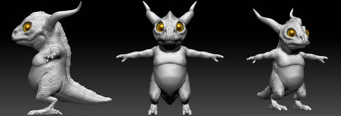 Baby Dragon by TerronViking
