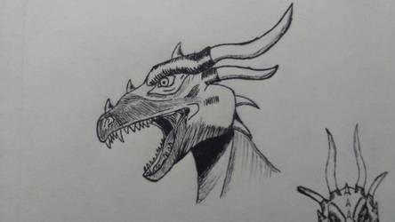 Dragon Shading Test by HoPeYveltal
