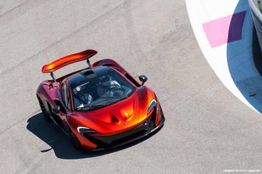 McLaren P1 by Attila-Le-Ain