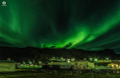 The Northern Lights Festival in Vik - III by PatiMakowska