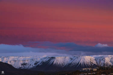 Jupiter instead of a Moon - Iceland by PatiMakowska