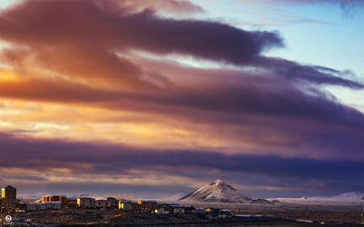 ... view from my office - Iceland 2018 by PatiMakowska