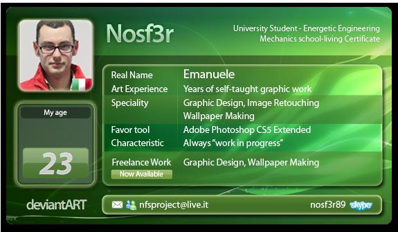 Nosf3r's Profile Picture