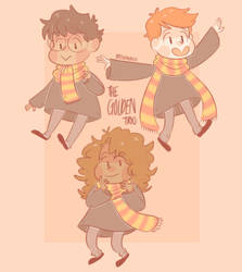 golden trio by preshfinn