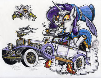 Rarity Fink by Sketchywolf-13