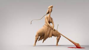 Hyld the Barbarian Princess by TheRedBarn