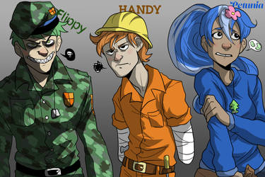 Yes This Is Happy Tree Friends by NEOmi-triX
