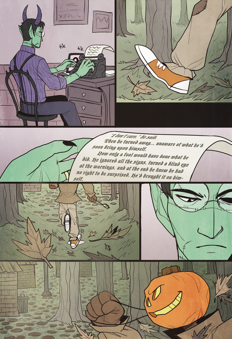 Ghoulsdale - short comic - page 1 by NEOmi-triX
