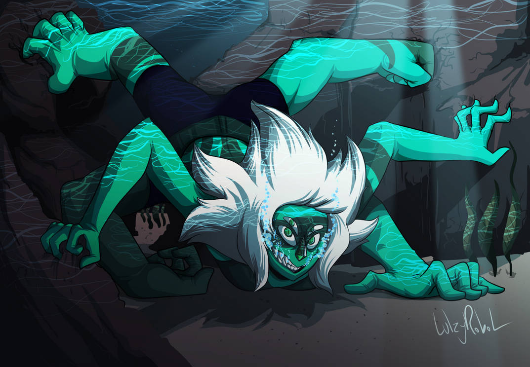 Wanted to draw hands so I drew the hand monster, Malachite from Steven Universe. DO NOT REPOST