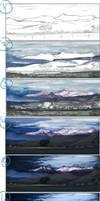 step-by-step Wallowas by Zaleho