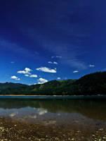 Mountain lake 4 by navamalika