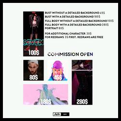 commission open! by Lu-Lu98