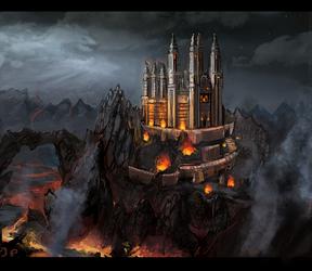 Dragon Guard Fortress Monastary by Minionslayer