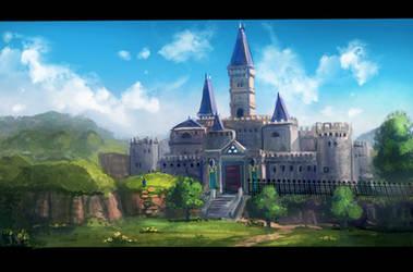 Legend of Zelda : Hyrule Castle by Minionslayer