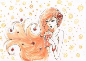 Day Two - ORANGE...orange by Daidai-Midori