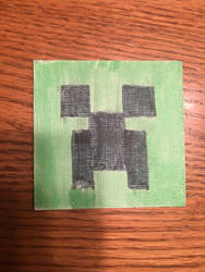 Creeper Magnet by Legoman3319