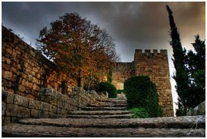 Jbeil Castle Entrance HDR by ZeeGrizzly