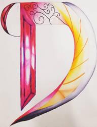Letter design by DR3WZILLA
