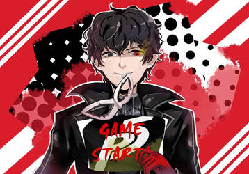 Persona 5 - Let the Game Begin ! by rei-akai-him3