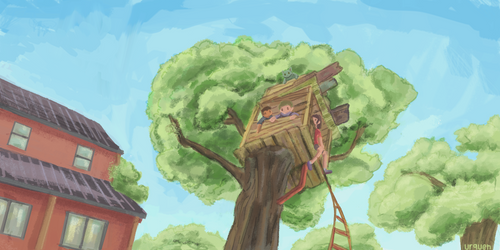 Treehouse by Urqueh