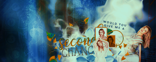 Second chance Signature by Maybeyou12
