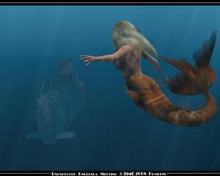 Unexpected Undersea Meeting by pumpkinman68
