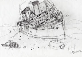 Titanic Wreck, Raise the Titanic by TimeLordParadox