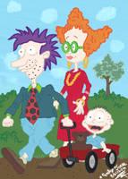 Rugrats:Tommy, Stu Didi by StarReSky