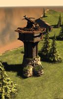 Ballista tower by artkalev